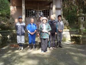 火雷神社参拝