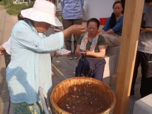 麹酢つくり実践