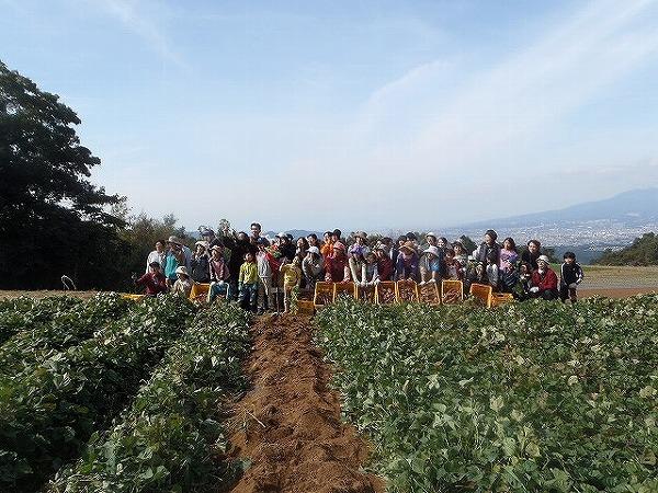 秋の収穫際記念写真③