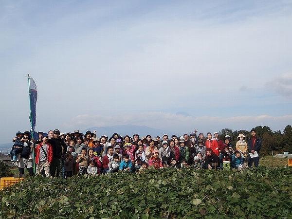 秋の収穫際記念写真①