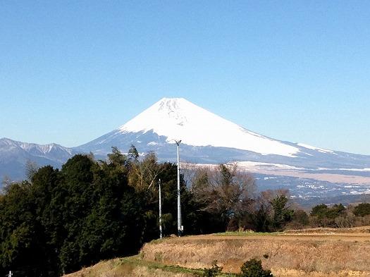 本日の富士山②L面より