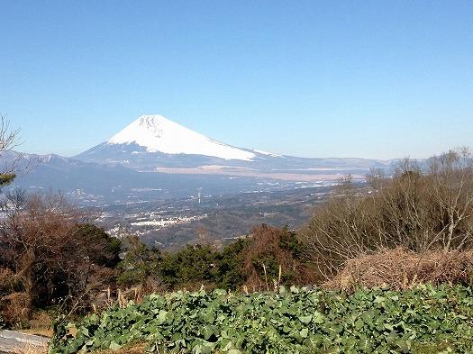 昨日の富士山②D面より
