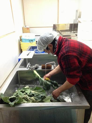 味噌汁用カリフラワー乾燥作り