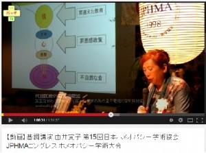 第15回JPHMAコングレス由井会長基調講演